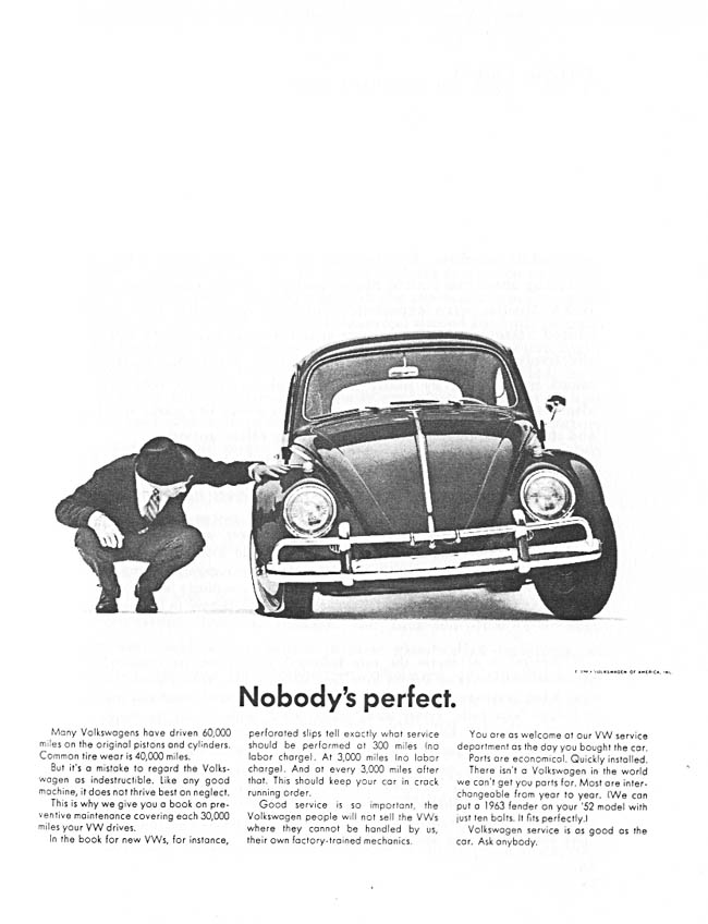 Volkswagen In America Nobody S Perfect