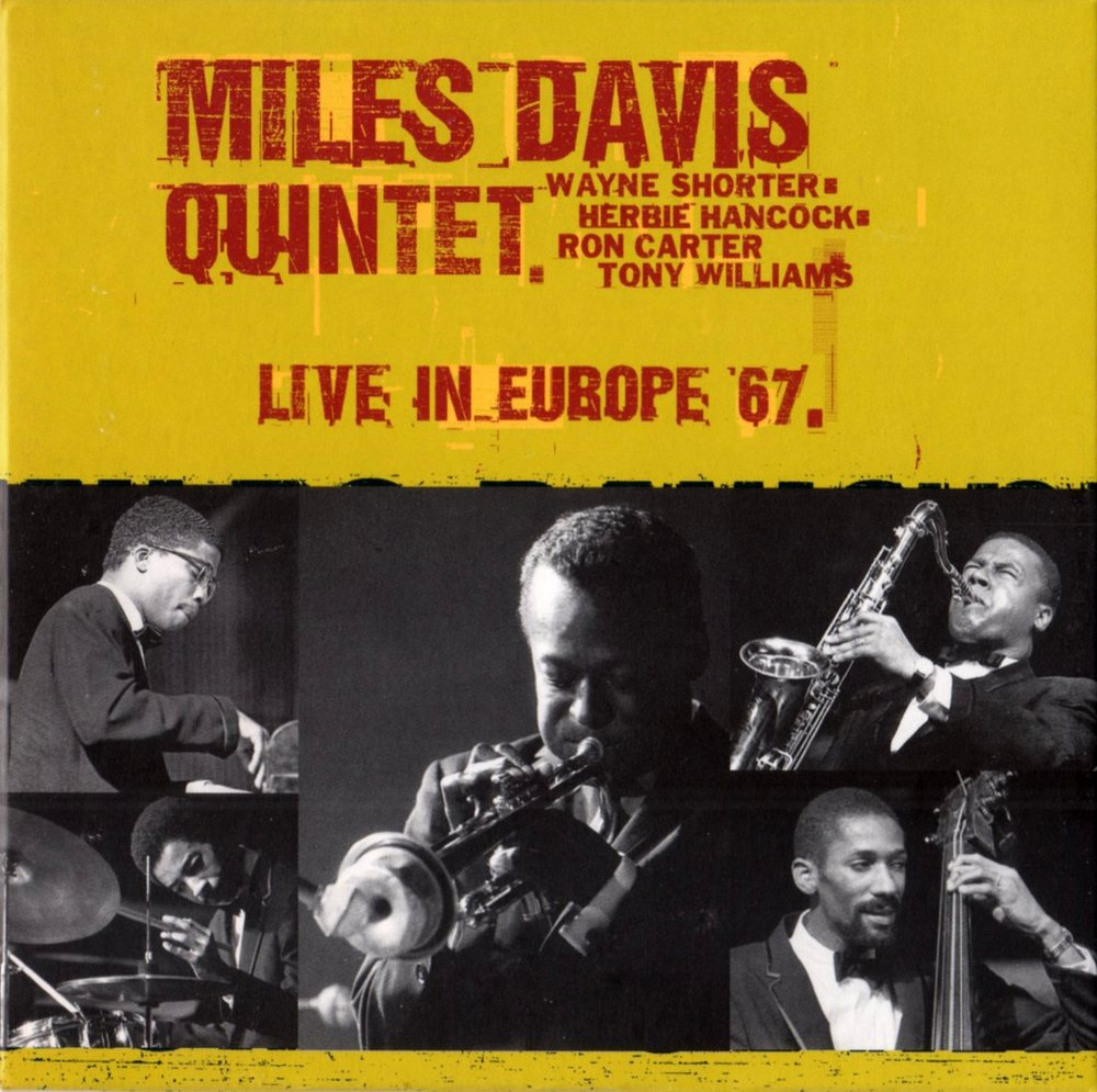 Live in Europe DVD front