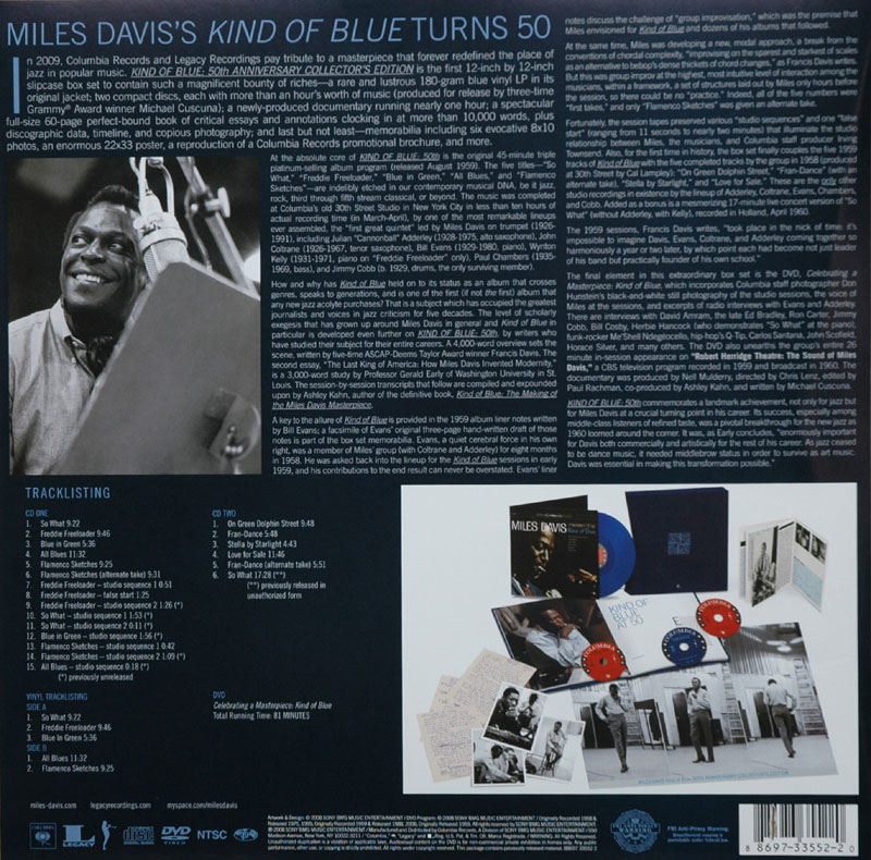 Kind of Blue 50th Anniversary